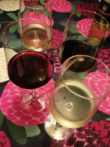 Viiniä, viiniä ja lisää viiniä!